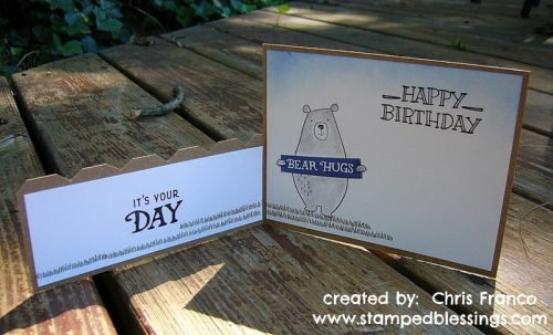 Jack cardmaking stamp set, Rustic Home Fundamentals - all supplies CTMH, dutch door card fold, fun fold card design, Chris Franco Close To My Heart consultant