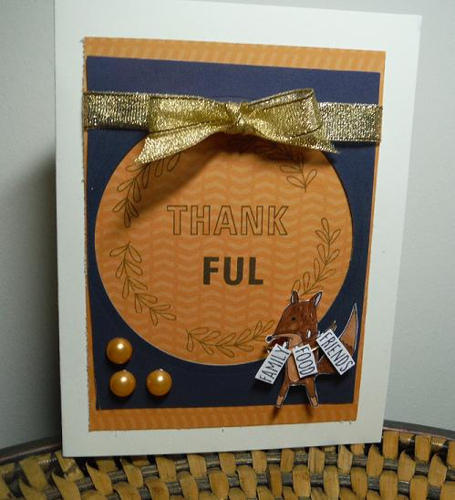 CTMH Beary Christmas for scrapbooking and Feel So Blessed (September STOM)