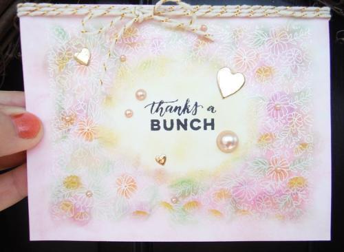 CTMH Heartfelt Thanks | one layer CAS card