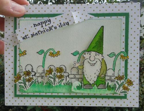 amuse studio, rubber stamping supplies, gnomes