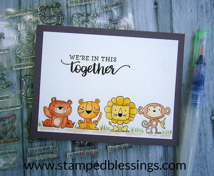 CTMH Stronger Together and Punny Pals - proceeds donated to BOTH Red Cross and Operation Smile. Get your stamp set(s) now!!