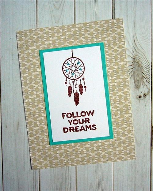 amuse studio, dreamcatcher stamp