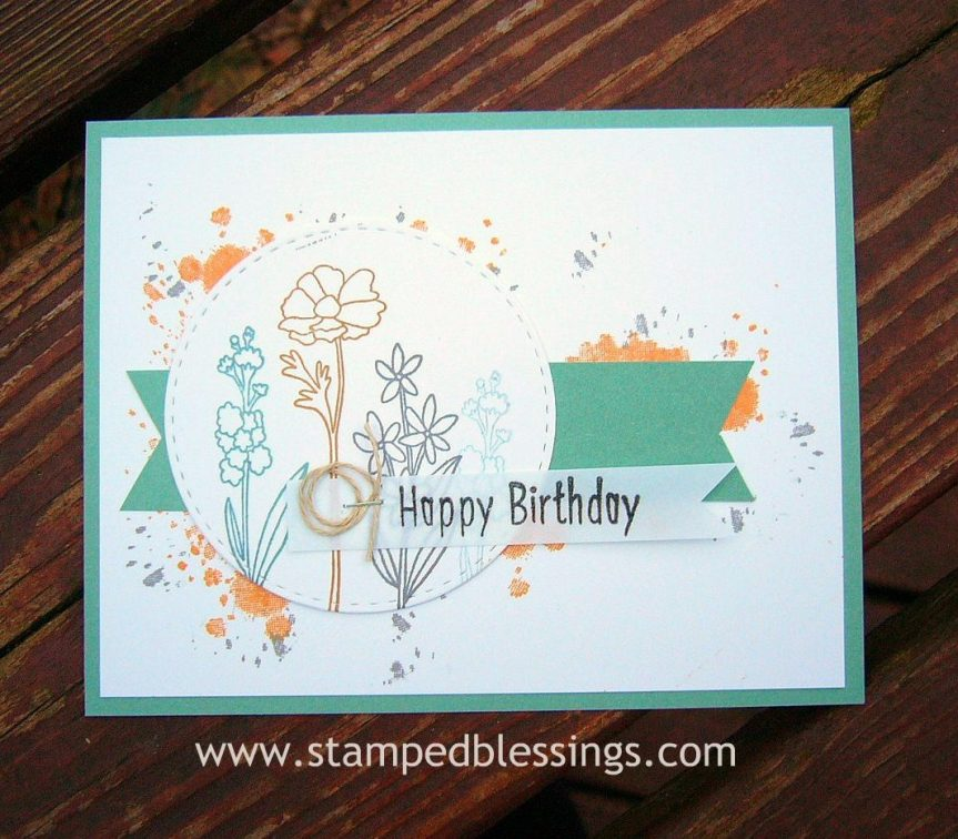 CTMH Many Congratulations and Stargazer (for birthday sentiment)   CAS card design