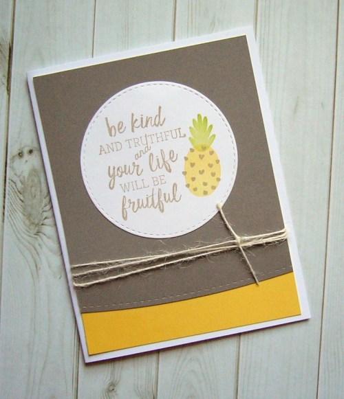 amuse studio, pineapple stamp
