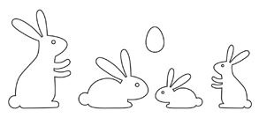 bunny die amuse studio