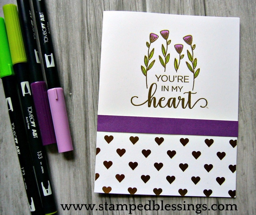 CTMH National Stamping Month celebration with this limited release: From the Heart #ctmhfromtheheart
