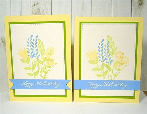 amuse studio, handmade Mother's Day card