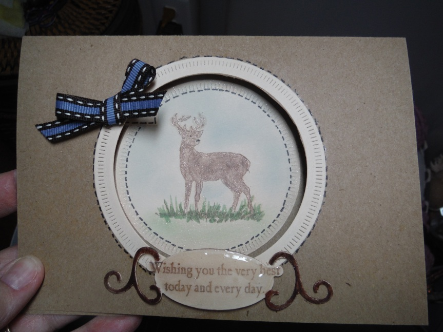 CTMH Nature's Wish   masculine cards
